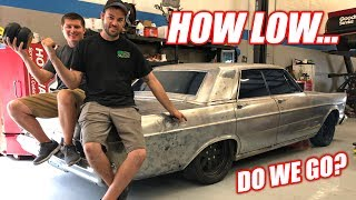 Download Our DIESEL Powered Ford Galaxie is Getting AIR RIDE! + CHOOSING A NAME (please vote) Mp3 and Videos