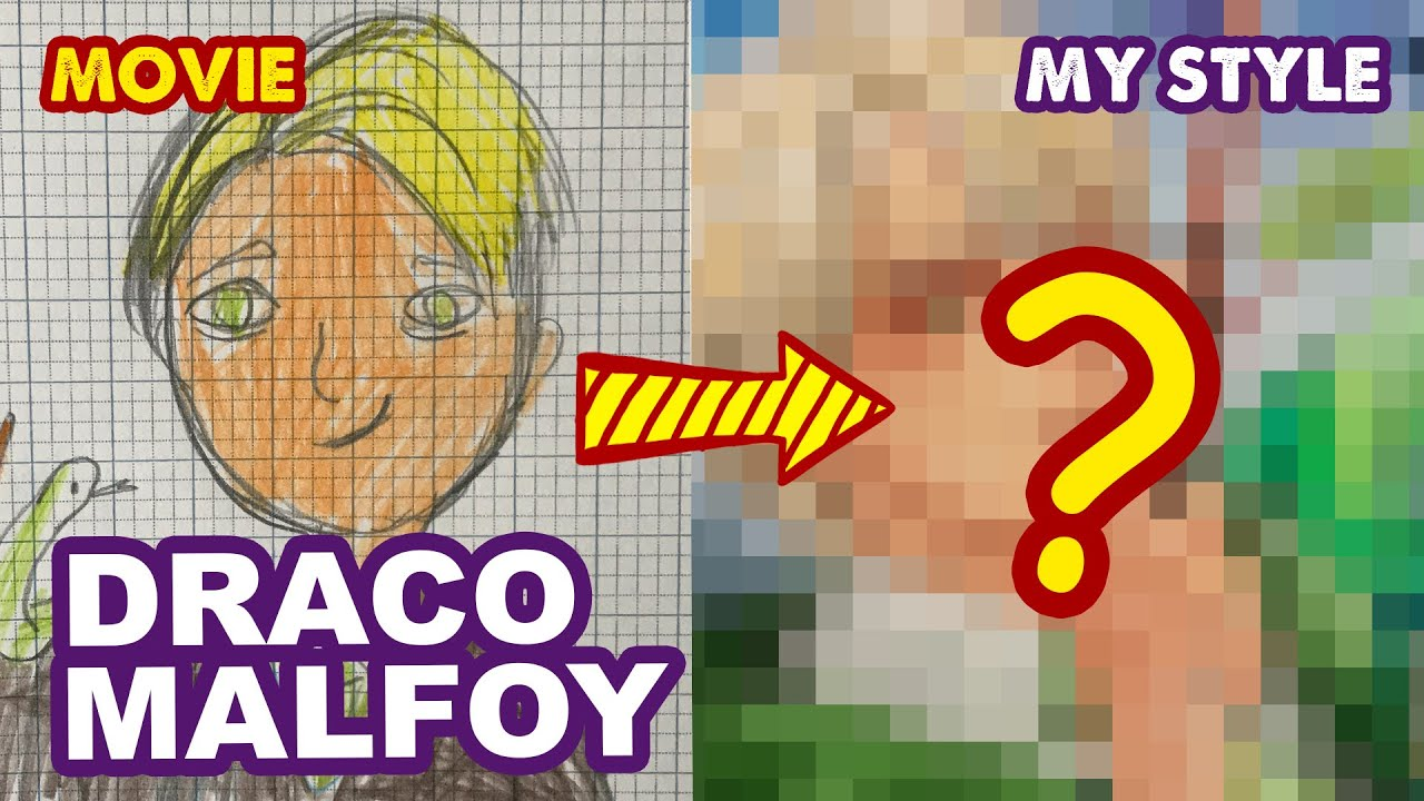 How To Draw Draco Malfoy from Harry Potter | Semi realistic | Huta Chan