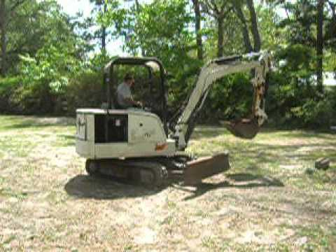 1999 BOBCAT 331 in Woodbine, GA - YouTube
