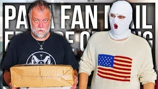 PAPANOMALY OPENING FAN MAIL