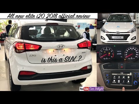 Hyundai Elite i20 2018 | 2018 Elite i20 Features,Review | i20 2018 Facelift Interior