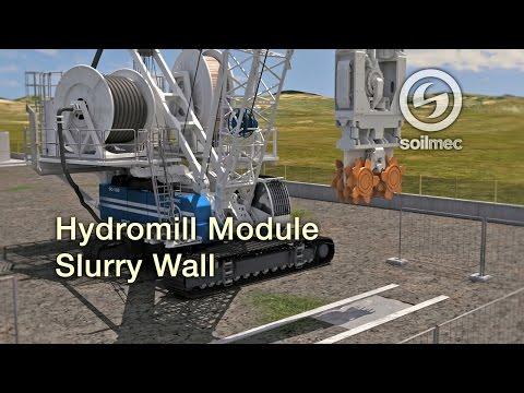 Hydromill Module SH 50 Diaphragm/Slurry walls Soilmec [150m & 250 mt deep]
