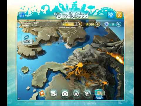 игра Doodle God Алхимия приложение в контакте