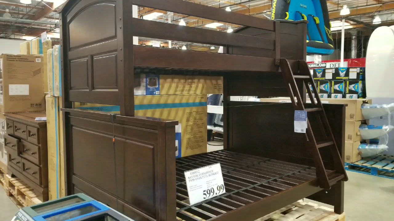 Costco Twin Over Full Bunk Bed Bayside Furnishing 599 Youtube