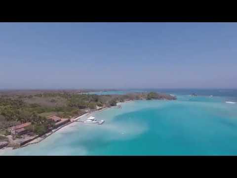 Isla Grande Drone Footage, Caribbean Islands near Cartagena