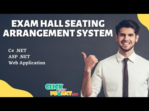 Final Year Projects Exam Hall Seating Arrangement System Youtube