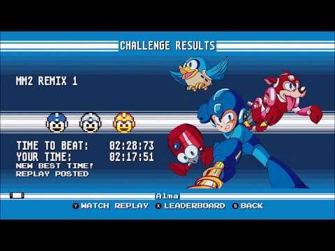 Mega Man legacy collection switch MM2 remix 1