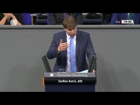 """Bundestag. """"Die Strom und Energiepreise gehen durch die Decke."""" Steffen Steffen Kotré, AfD 13.01.21"""