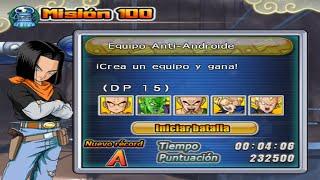 [TAS] DBZ BT4: Misión 100 (25): Equipo Anti-Androide