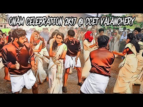 Onam Celebration 2k17 Flashmob CIVILIANZ @ Cochin Engineering College Valanchery