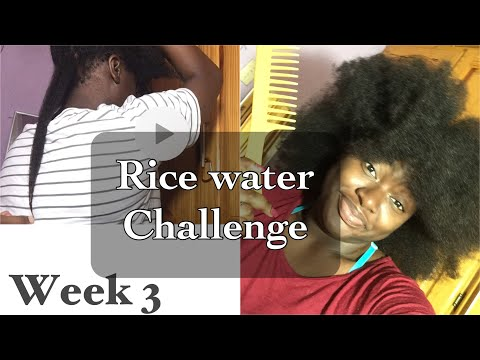 Amazing rice water   my full wash and style 4b/4c hair routine   Cyra Lys