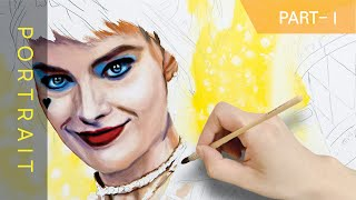 howtooilpainting #hyperrealisticoilpainting #hyperrealisticoilpaintingtutorial Hello? i'm DOHAZI I drew Harlequin of Birds of Prey. I don't know if the charm of ...