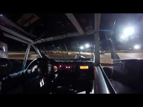Had motor problems when passing for the lead... still a heck of a race!! Look us up on face book 141 racing team. - dirt track racing video image