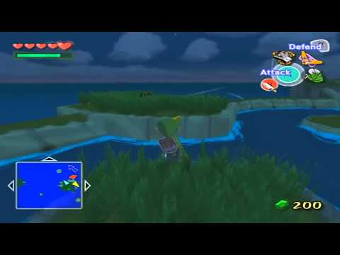 Forest Haven - Treasure Chart -Wind Waker Lets Play