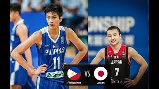 Philippines vs. Japan FULL HIGHLIGHTS | Fiba Asia U16 | 04.06.18
