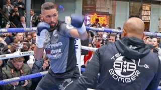 Tony Bellew HIGH SPEED PAD WORKOUT vs David Haye | The Rematch