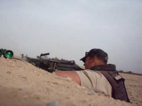 Firefight with Taliban in Helmand Afghanistan