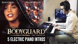 THE BODYGUARD - WHITNEY HOUSTON l 5 PIANO INTROS [MEDLEY]