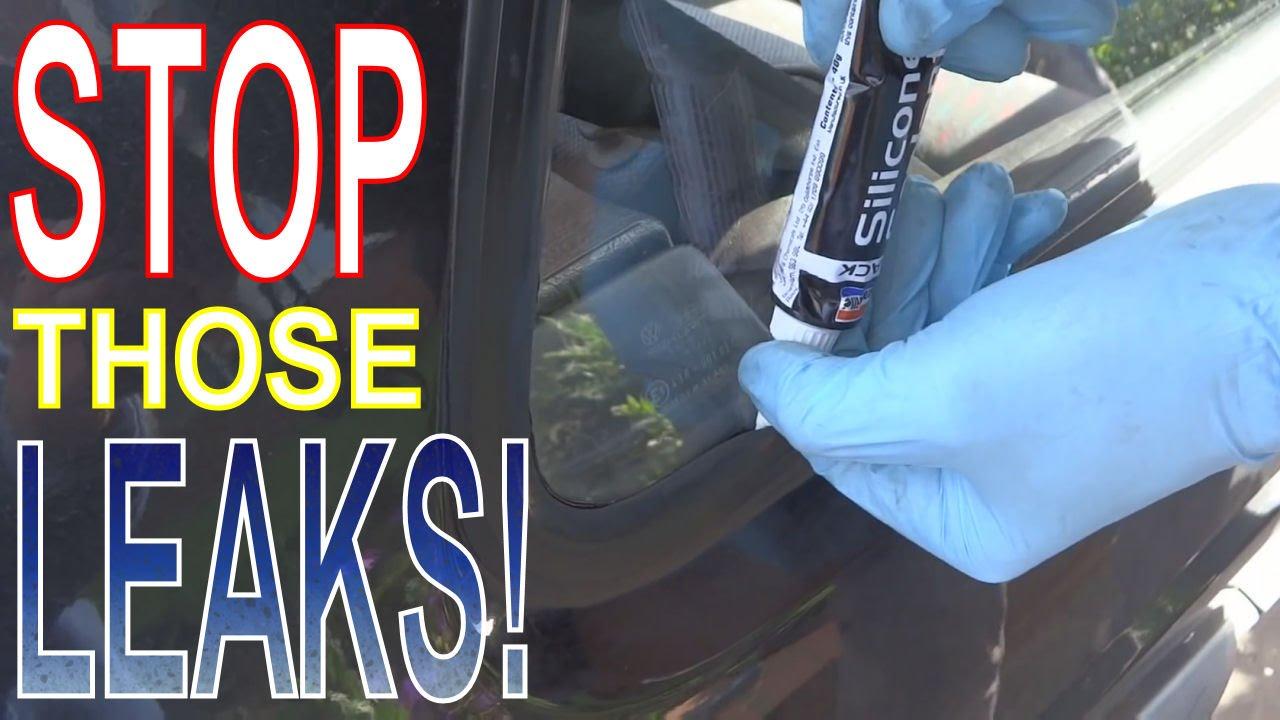 Water in Footwells! How to Stop Wet Footwells! Seal Leaking Car ...