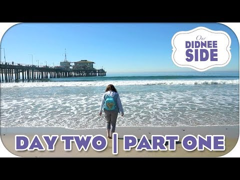 CHERYL'S FIRST OCEAN | CALIFORNIA DAY 2 - PART 1 | Our Didnee Side
