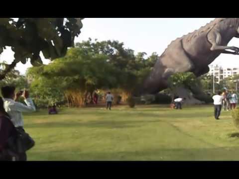 Dinosaur garden in pimpri chinchwad