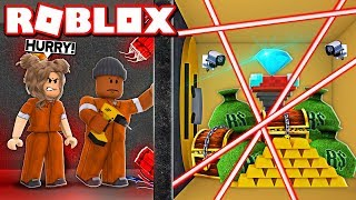 Robbing the *NEW* JEWELRY STORE WITH THE #1 CRIMINAL IN ROBLOX JAILBREAK