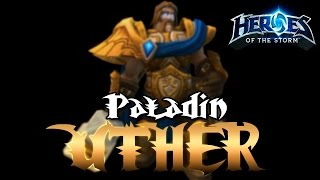 Heroes of the Storm молот альянса Uther