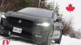 Jaguar I-PACE Winter Testing Footage
