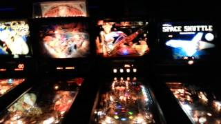 PINBALL ARCADE at Premier Lanes Chesterfield Mich