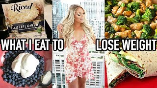 WHAT I EAT IN A DAY TO LOSE WEIGHT | SHEDDING FOR THE WEDDING