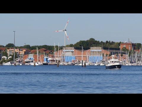 Travemünde, Germany: Trave, Jachthafen (Yacht Harbor) - 4K UHD Video Image