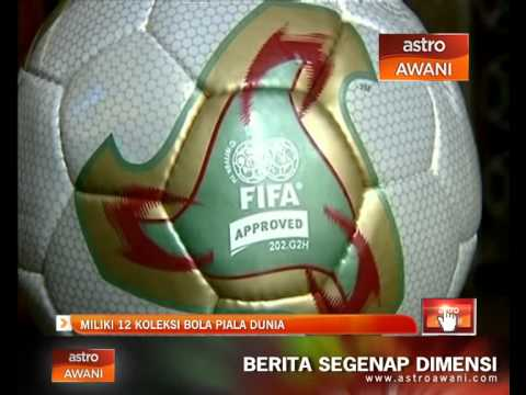 Miliki Koleksi  Biji Bola Rasmi Piala Dunia Youtube