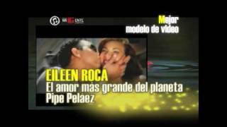 'MEJOR MODELO DE VIDEO' PREMIOS MI GENTE 2010 (PARTE 4 DE 19)