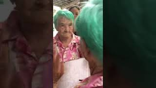 Green Come True: Grandma's Hair Is Dyed the Color She Always Wanted