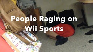 People Raging on Wii Sports