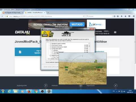 How to mod World of Tanks! Using auto-installer. Jove's modpack. Legal mods.