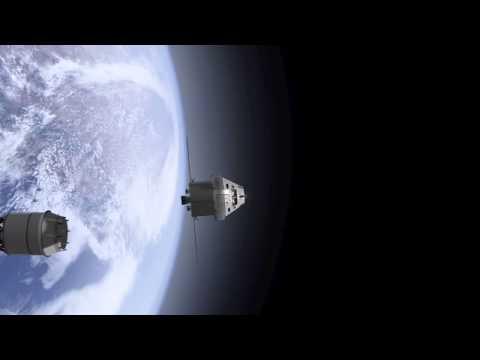 Orion Exploration Mission-1 Animation