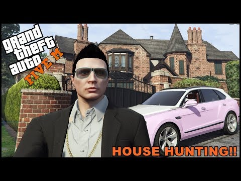 GTA 5 ROLEPLAY - GOING HOUSE HUNTING!! - EP. 436 - CIV