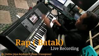Rap Batak (Sound bersih) Live recording
