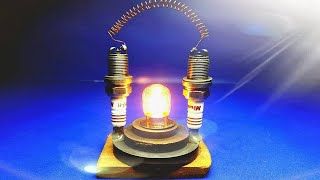 Free Energy Using Magnet With Light Bulb At Home