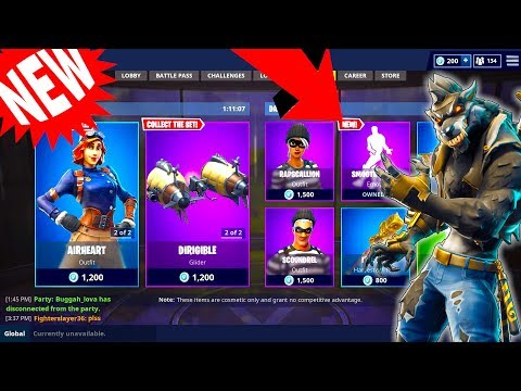 *NEW* DAILY ITEM SHOP UPDATE OCTOBER 2nd FANCY FEET is OUT ...