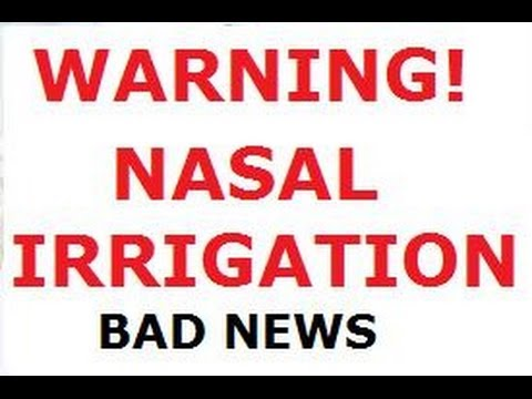 How nasal irrigation works - and how it does not work - YouTube