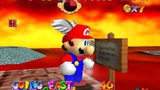 Super Mario 64 (Pro Skater) - Lethal Lava Land Freerun (TAS)