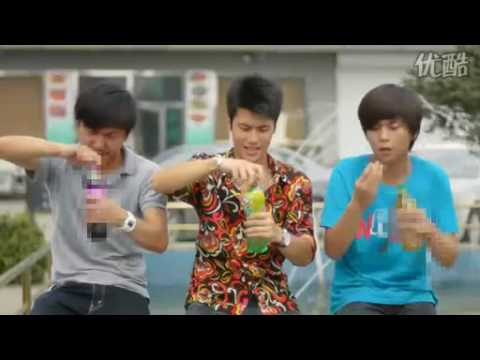 Hilarious 7UP Chinese Commercial—Tragedy Guy!【complete version】胡戈作品