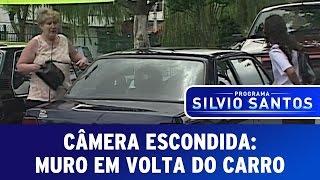 Câmera Escondida: Muro Em Volta Do Carro