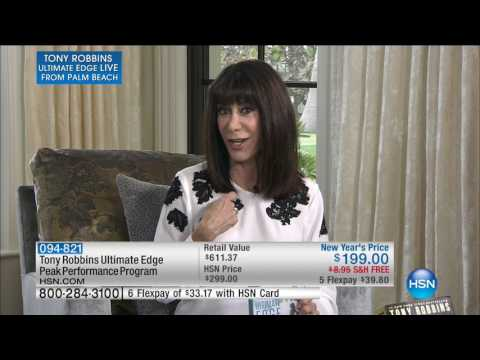 HSN | Tony Robbins Ultimate Edge Live from Palm Beach 01.14.2017 - 11 AM