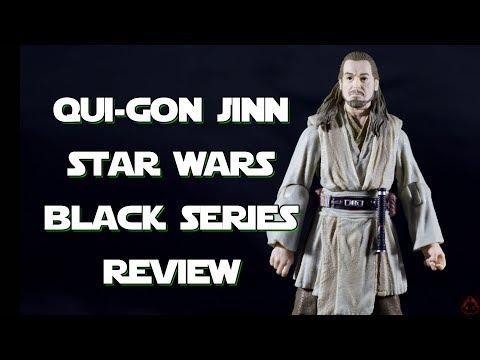Star Wars Black Series Qui-Gon Jinn 6-inch Figure Review