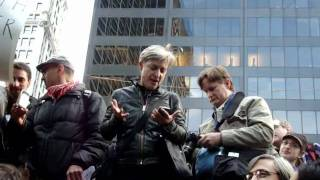 Judith Butler at Occupy Wall Street