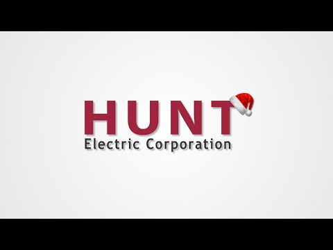 Hunt Animated Holiday Corporate Logo