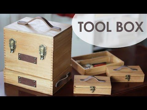 Vintage Style Tool Box